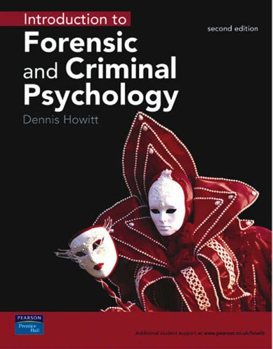 9780131297586: Introduction to Forensic & Criminal Psychology