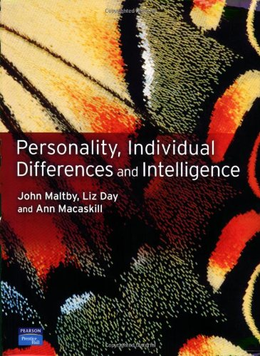 9780131297609: Personality, Individual Differences and Intelligence