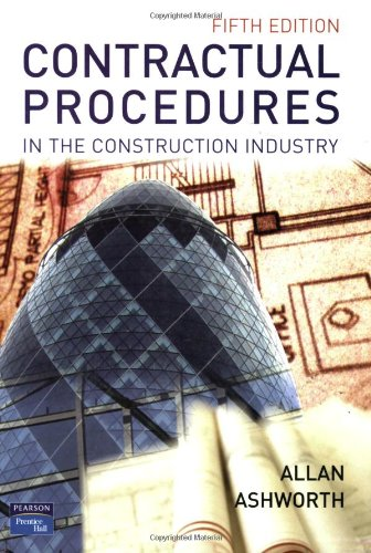 9780131298279: Contractual Procedures in the Construction Industry