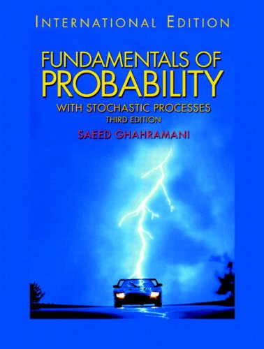9780131298491: Fundamentals of Probability, with Stochastic Processes: International Edition