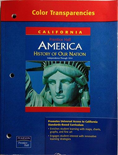 Color Transparencies (California Prentica Hall America History: Pearson/Prentice Hall