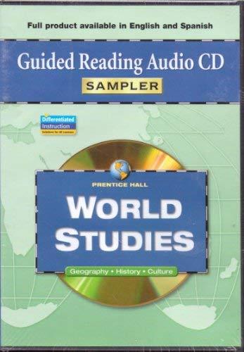 9780131299276: Prentice Hall World Studies Guided Reading Audio CD Sampler
