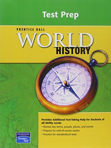 9780131299993: WORLD HISTORY TEST PREP WORKBOOK 2007