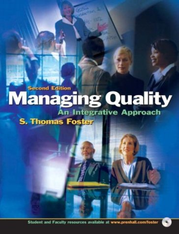 9780131302662: Managing Quality: An Integrative Approach, Second Edition