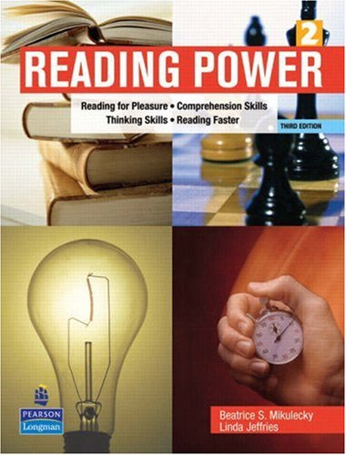 9780131305489: Reading Power: Reading for Pleasure * Comprehension Skills * Thinking Skills * Reading Faster