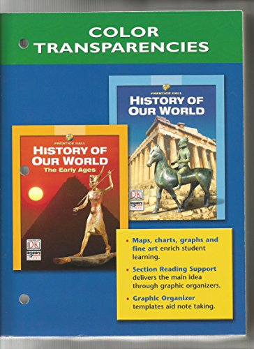 History of Our World, Color Transparencies from: Prentice Hall