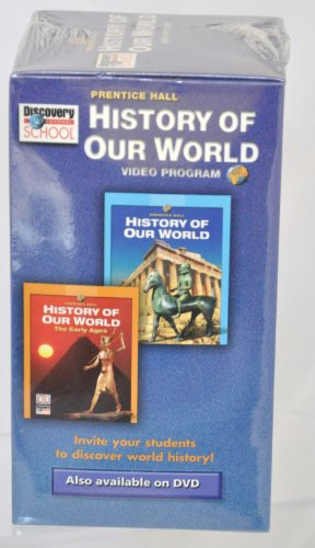 9780131307964: Discovery School History of our World Video Program - 4 VHS Tape Set