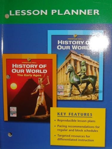 9780131308183: Lesson Planner (History of Our World)