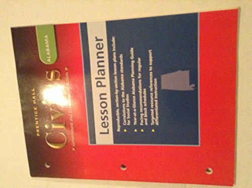 9780131309487: Lesson Planner for Prentice Hall
