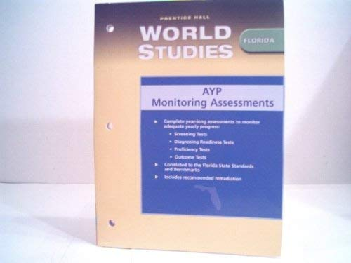 9780131309609: World Studies Florida AYP Monitoring Assessments