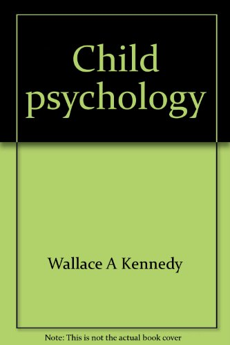 9780131311695: Child psychology (The Prentice-Hall series in developmental psychology)