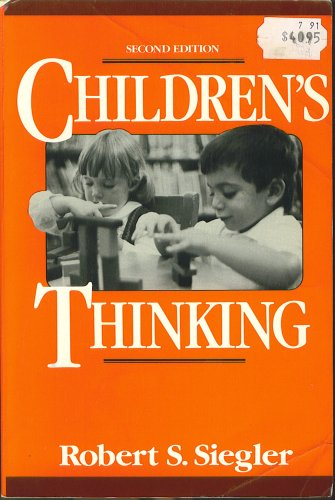 9780131312104: Children's Thinking