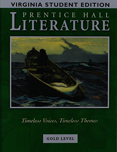 9780131312784: Prentice Hall Literature Gold Level - Virginia Edition Grade 9