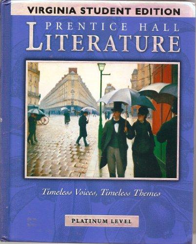 Prentice Hall Literature (Virginia Edition): a