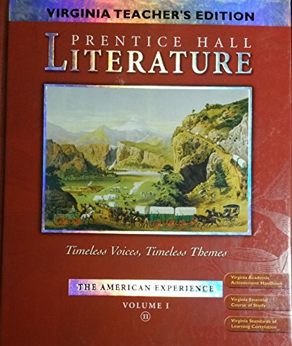 9780131312906: Timeless Voices, Timeless Themes (The American Experience) (Literature, Volume 1)
