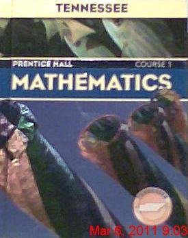 9780131314108: Mathematics (Course 1, Course 1 Tennessee Edition)