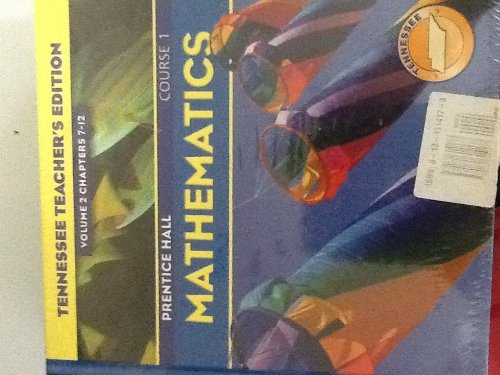 Prentice Hall Mathematics TN. TE, Volumes 1 & 2: Charles, Branch-Boyd, Illingworth, Mills, And ...