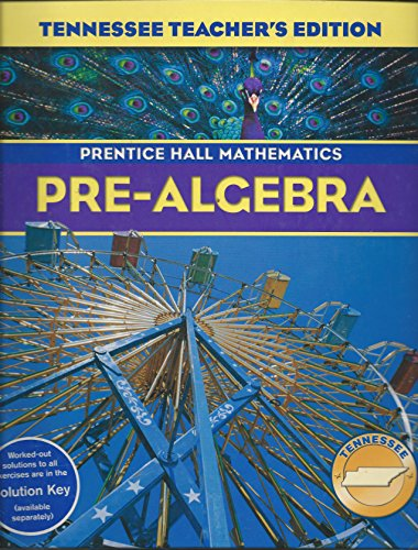 9780131314214: Pre-Algebra (Prentice Hall Mathematics, Tennessee Edition)