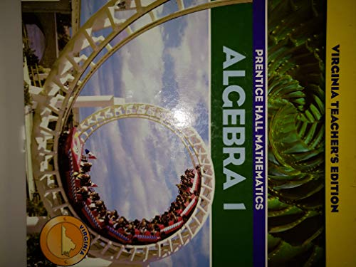 9780131314313: Algebra 1 Virginia Teacher's Edition