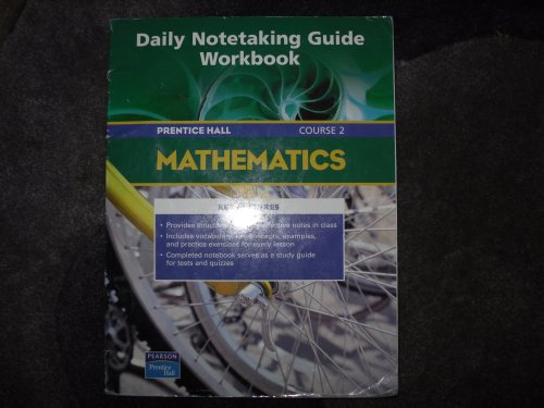 9780131314986: PRENTICE HALL MATH COURSE 2 DAILY NOTETAKING GUIDE 2004C