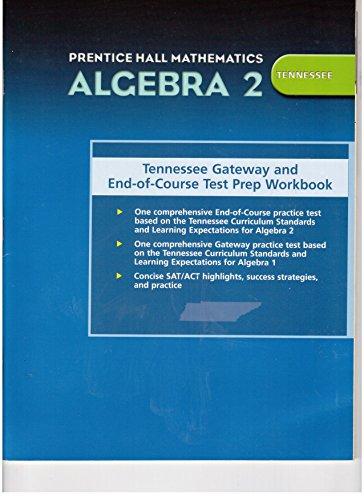 9780131315068: PRENTICE HALL MATH ALGEBRA 2 TENNNESSEE TEST PREPARATION 2004C
