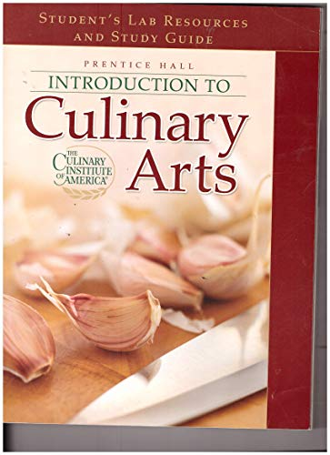 9780131315549: Prentice Hall Introduction to Culinary Arts Student's Lab Resources and Study Guide
