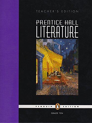 Prentice Hall Literature, Teacher's Edition, Grade 10: Kate Kinsella