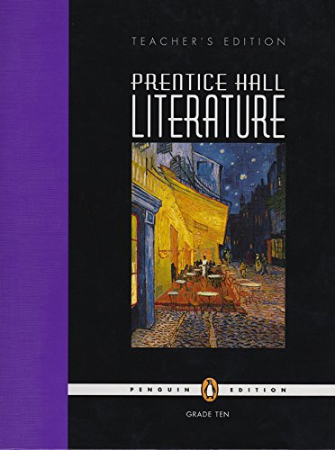 9780131317574: Prentice Hall Literature, Teacher's Edition, Grade 10