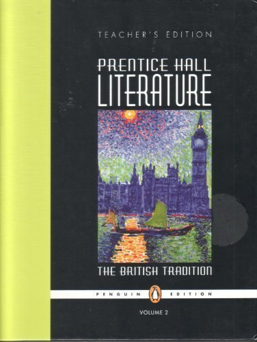 9780131317628: Prentice Hall Literature;The British Tradition Volume 2 (Teacher's Edition)