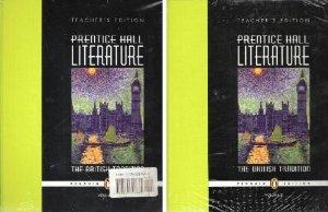 9780131317635: Prentice Hall Literature: The British Tradition , Volume 1 & 2 Set- Teacher's Edition (Penquin Edition, Set of Volume 1 & 2)
