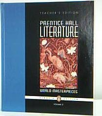 9780131317666: Literature: World Masterpieces, Teacher's Edition (Volume 2)