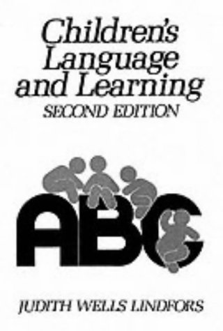 9780131319622: Children's Language and Learning (2nd Edition)