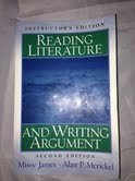 9780131321779: Reading Literature and Writing Argument