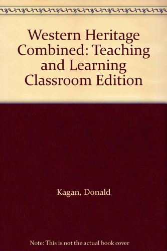 9780131321960: Western Heritage Combined: Teaching and Learning Classroom Edition