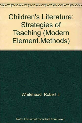 9780131325890: Children's Literature: Strategies of Teaching (Modern Element.Methods)