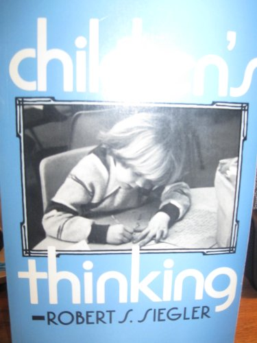 9780131326224: Children's thinking