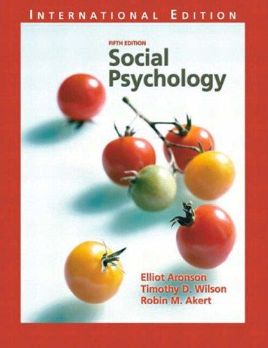 9780131327931: Social Psychology