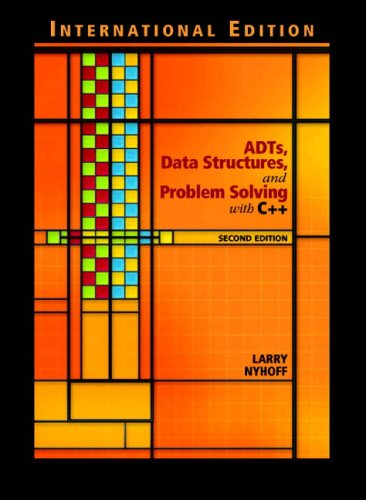 9780131327948: Adts, Data Structures and Problem Solving with C