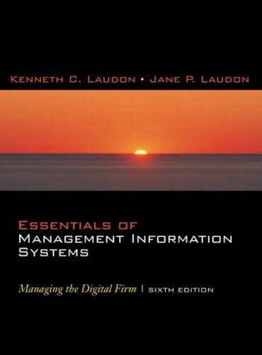 9780131330054: Essentials of Management Information Systems: Managing the Digital Firm