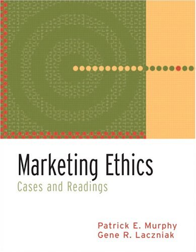 9780131330887: Marketing Ethics: Cases and Readings