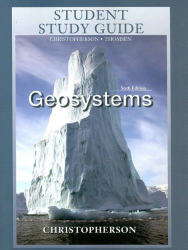 9780131330924: Student Study Guide for Geosystems, Sixth Edition