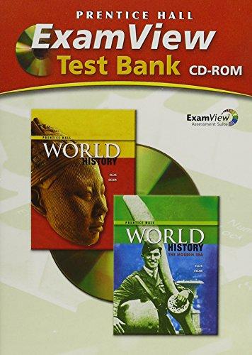 PRENTICE HALL WORLD HISTORY COMPUTER TEST BANK: HALL, PRENTICE