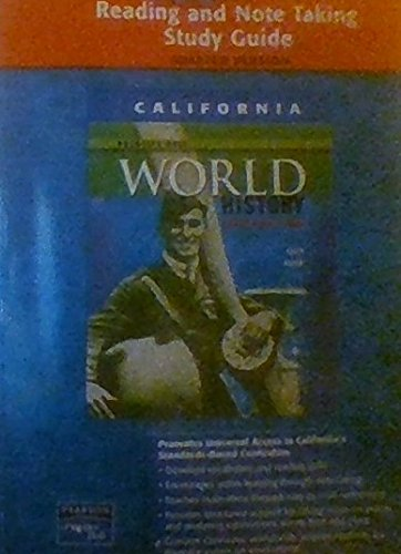 9780131333536: Reading and Note Taking Study Guide Prentice Hall World History, the Modern World, Adapted Version C