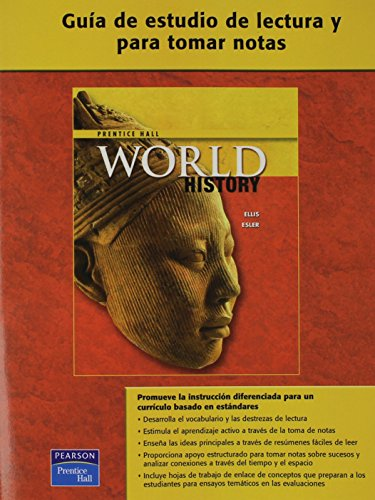 9780131333543: WORLD HISTORY SPANISH READING AND NOTE TAKING STUDY GUIDE SURVEY 2007C