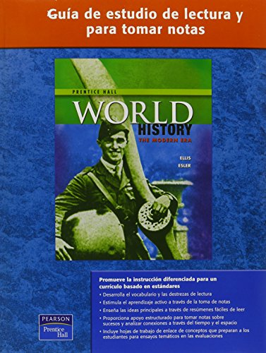 9780131333567: WORLD HISTORY SPANISH READING AND NOTE TAKING STUDY GUIDE MODERN 2007C