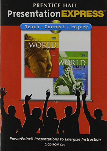 9780131333581: Presentation Express World History CD ROM