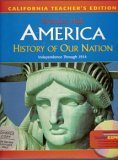 9780131333819: History Of Our Nation Independence Thru 1914 (CA) 8 (TE)