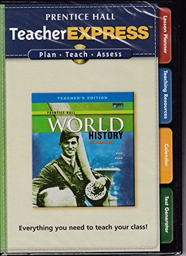 9780131333871: Prentice Hall TeacherEXPRESS World History (TeacherEXPRESS)