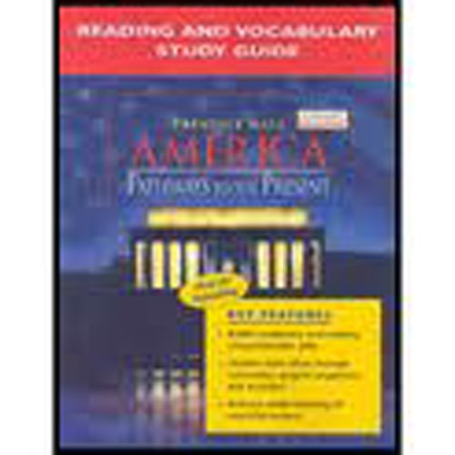 9780131335158: America: Pathways to the Present- Reading and Vocabulary Study Guide