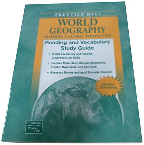 9780131335332: WORLD GEOGRAPHY READING AND VOCABULARY STUDY GUIDE 2007